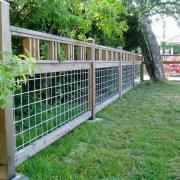 lettered streets fence